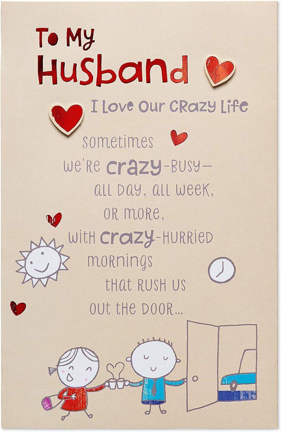 happy birthday husband card funny