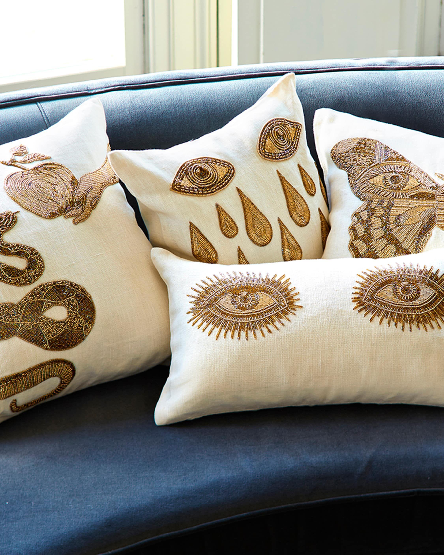Muse Eyes Throw Pillow In 2020 Jonathan Adler Throw Pillows Pillows