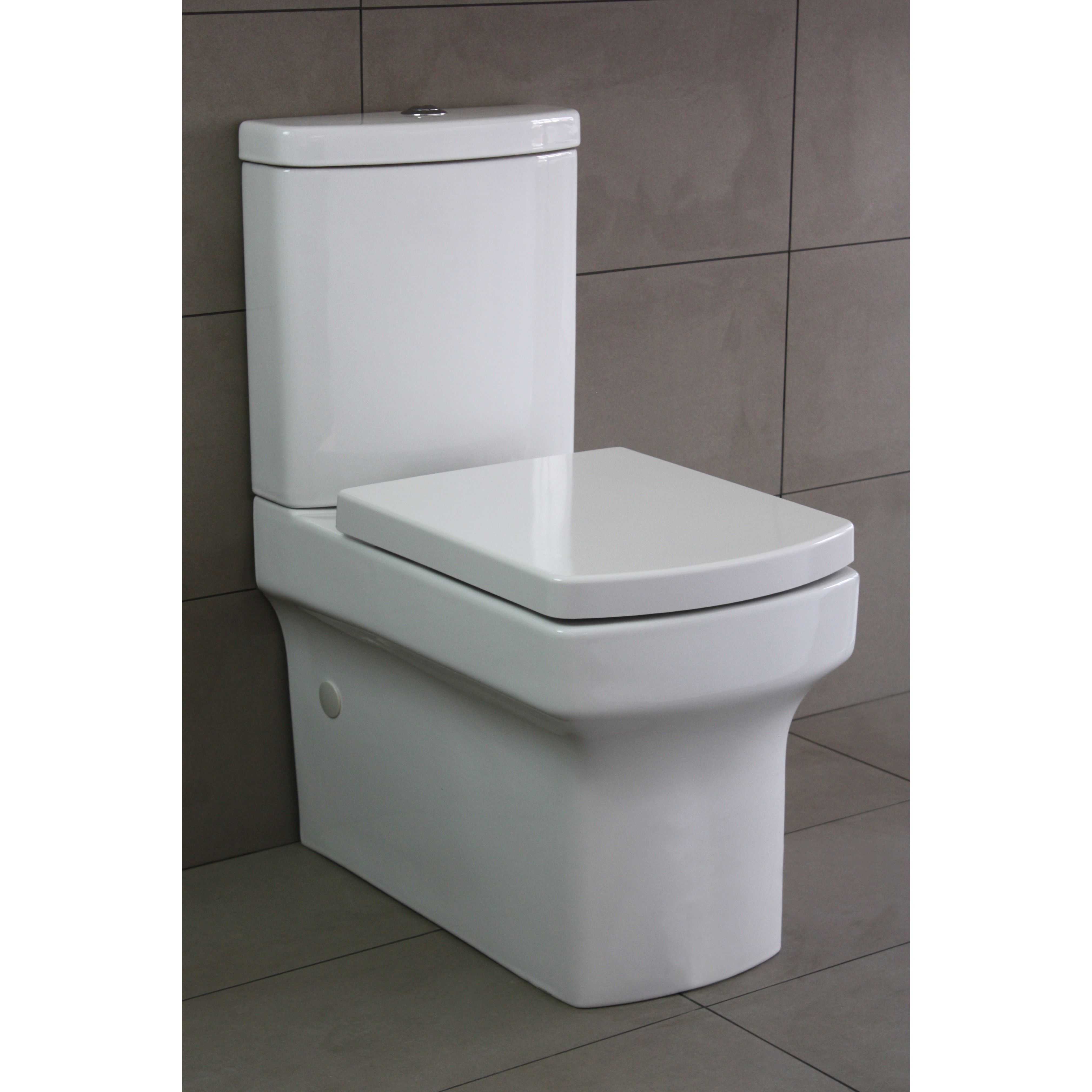 Avante Wall Faced Toilet Suite | Toilet suites, Toilet ...