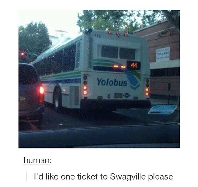 I'd like a ticket to swagville please.
