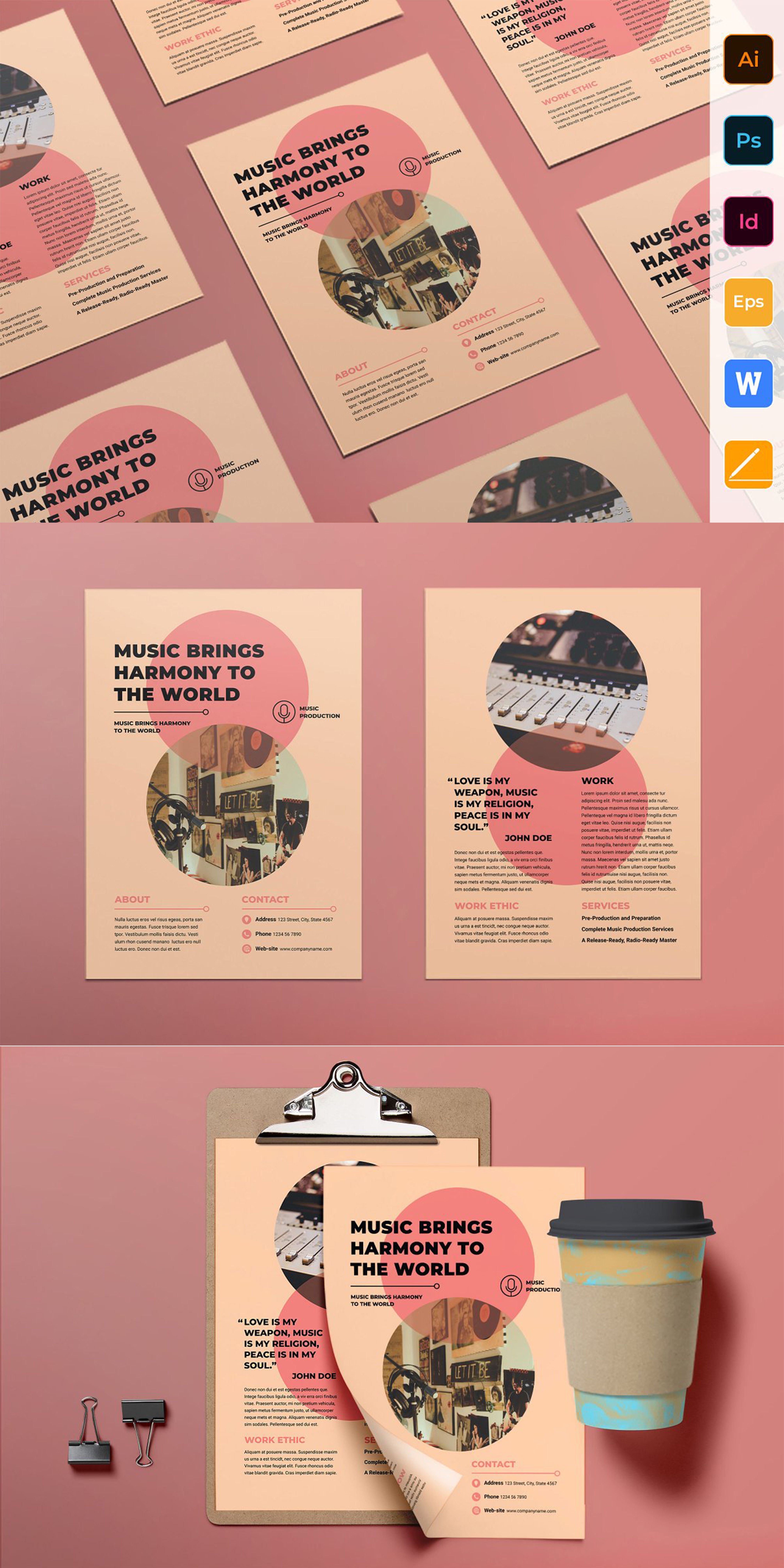 12 Event Flyer Design Examples & Ideas - Daily Design Inspiration, flyers templates, poster design
