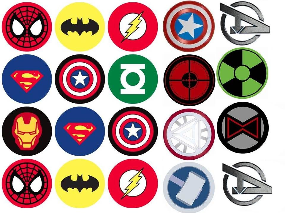 picture regarding Superhero Cupcake Toppers Printable referred to as Avengers Printables - Take a look at in the direction of get an unbelievable tremendous hero