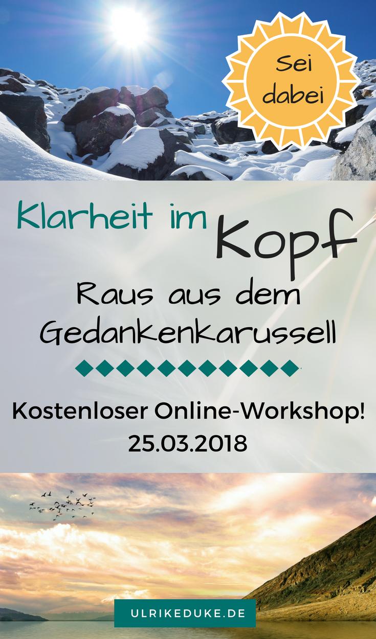 Online-Live-Workshop - Klar im Kopf | Abschalten, Möchtest und Nerven