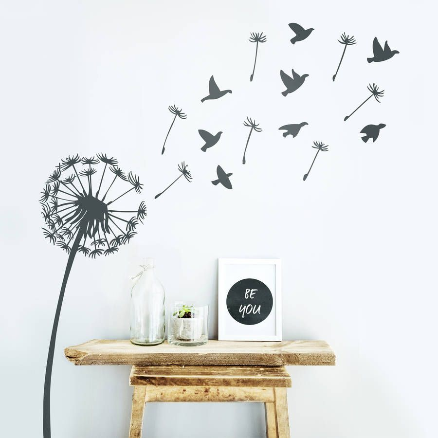 We Love This Carefree Dandelion Wall Sticker. Perfect Decoration For A  Bedroom Or Nursery.