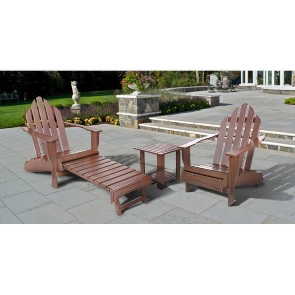 Adirondack Chair And Table Set 1 392 00 The Adirondack Market