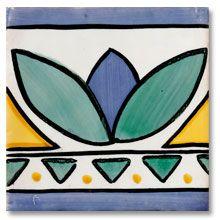 Azulejos Artisticos Pintados A Mano Para Cenefas Decorativas En