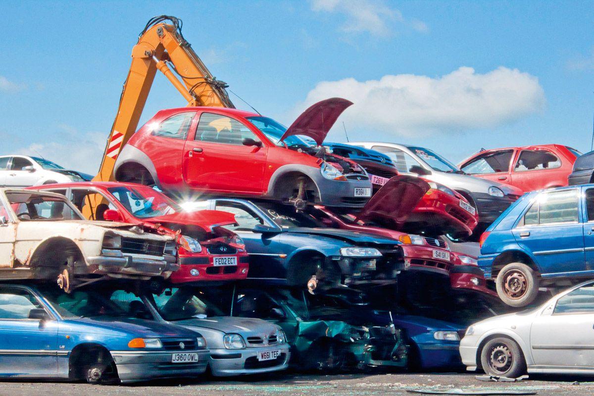 Automobiles Filling Up Junk Yards and Landfills - https://vinzite ...