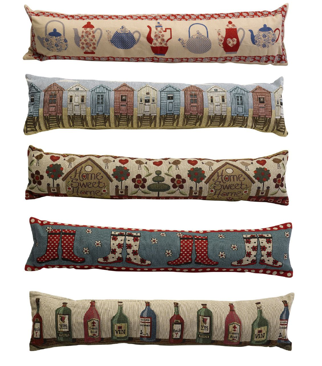 Attractive These Tapestry Style Fabric Draught Excluders Are Ideal For Keeping That  Cold Winter Weather Outside And