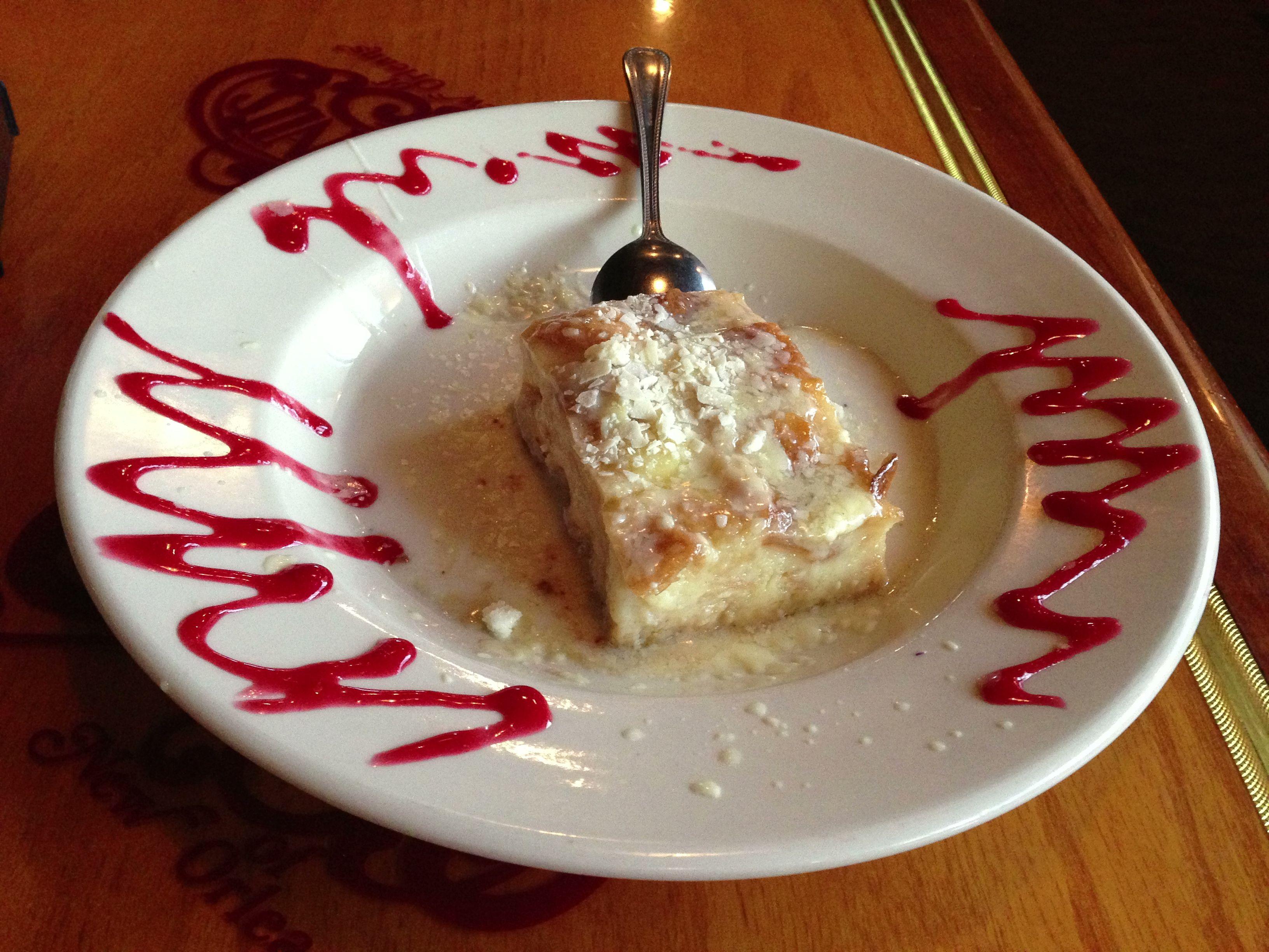 Mmmmmm White Chocolate Bread Pudding Copeland\'s Restaurant Westbank ...