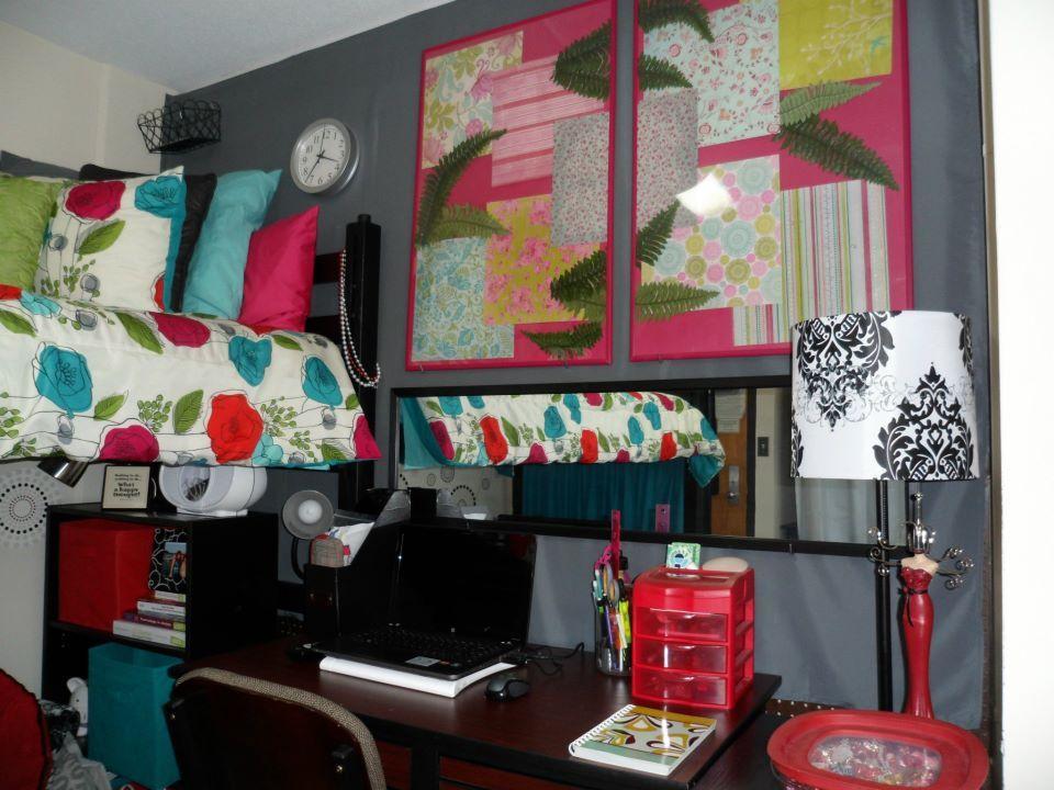 Decadent Dorm Desk Decor College Pinterest Dorm Dorm Room And