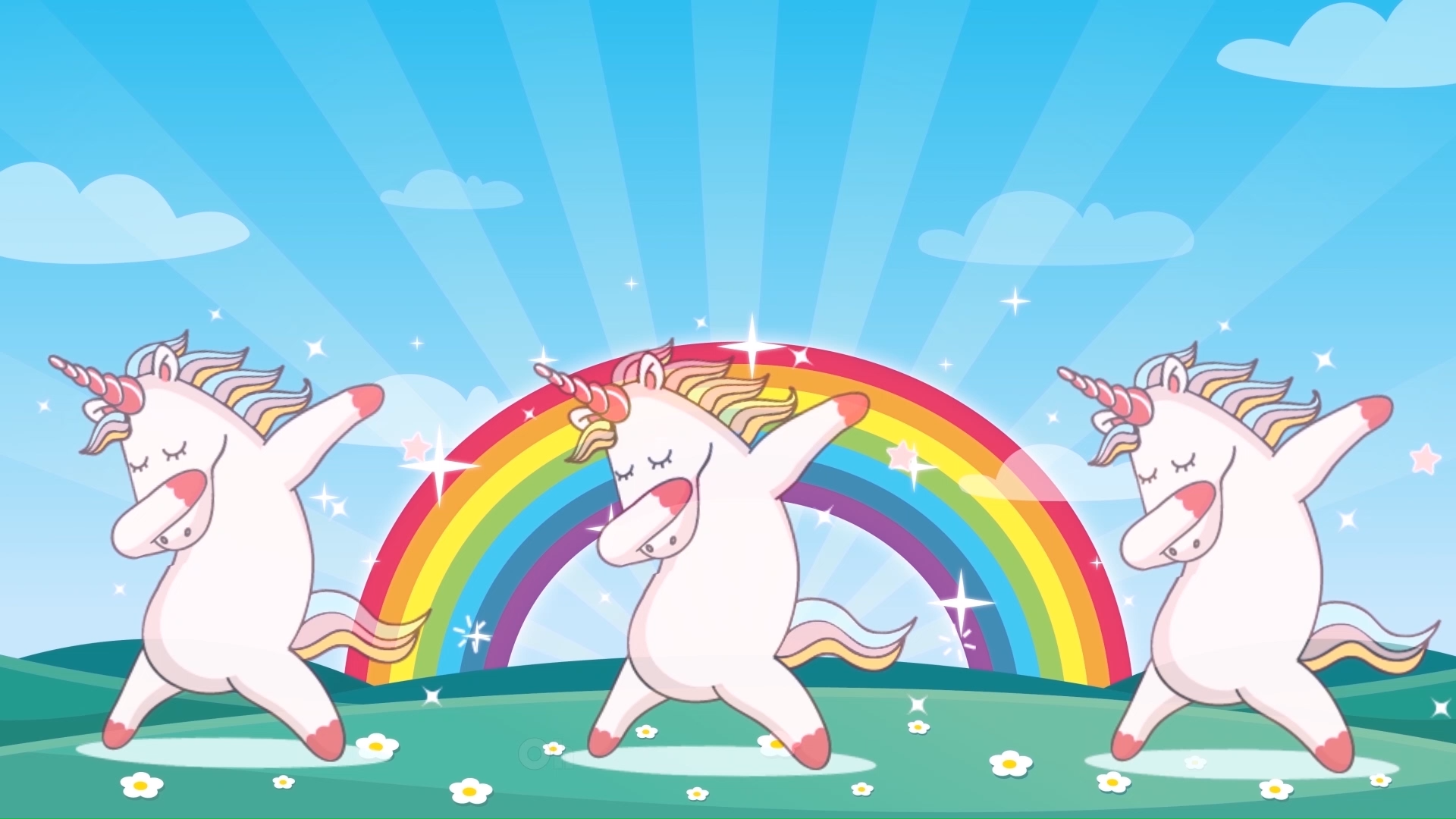 World's first llamacorn song with cute animations! We just adore