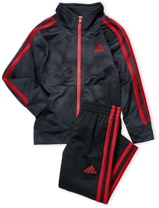 a53a27627 adidas Toddler Boys) Two-Piece Printed Tricot Track Jacket & Pants Set