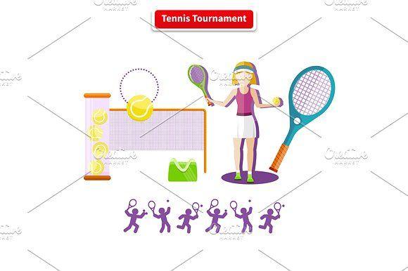 Tennis Tournament Concept Tennis Tournaments Tennis Tournaments