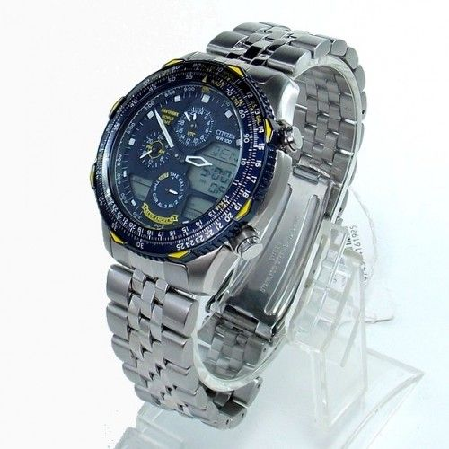 b3685b9efec JN0040-58L Relógio Citizen Promaster Navihawk Blue Angels