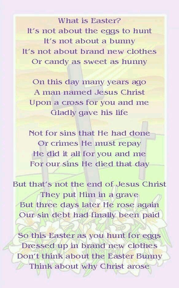 christliche ostergedichte