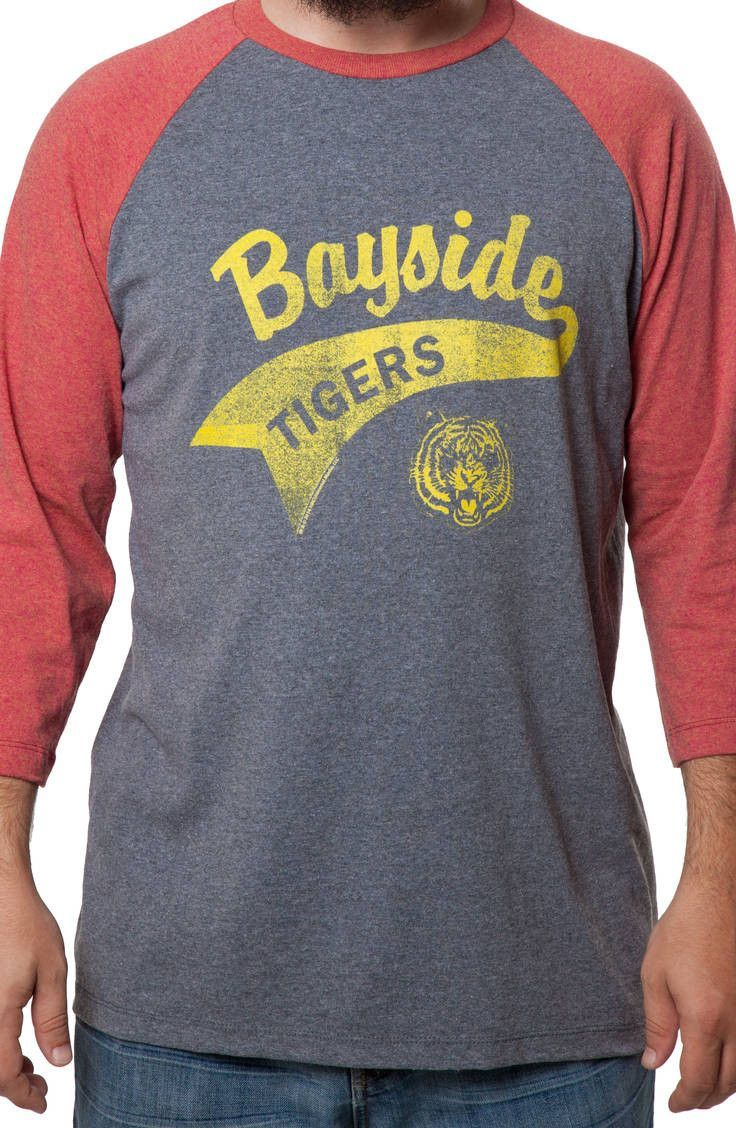 Saved by the Bell Bayside Tigers Baseball Jersey Cool t