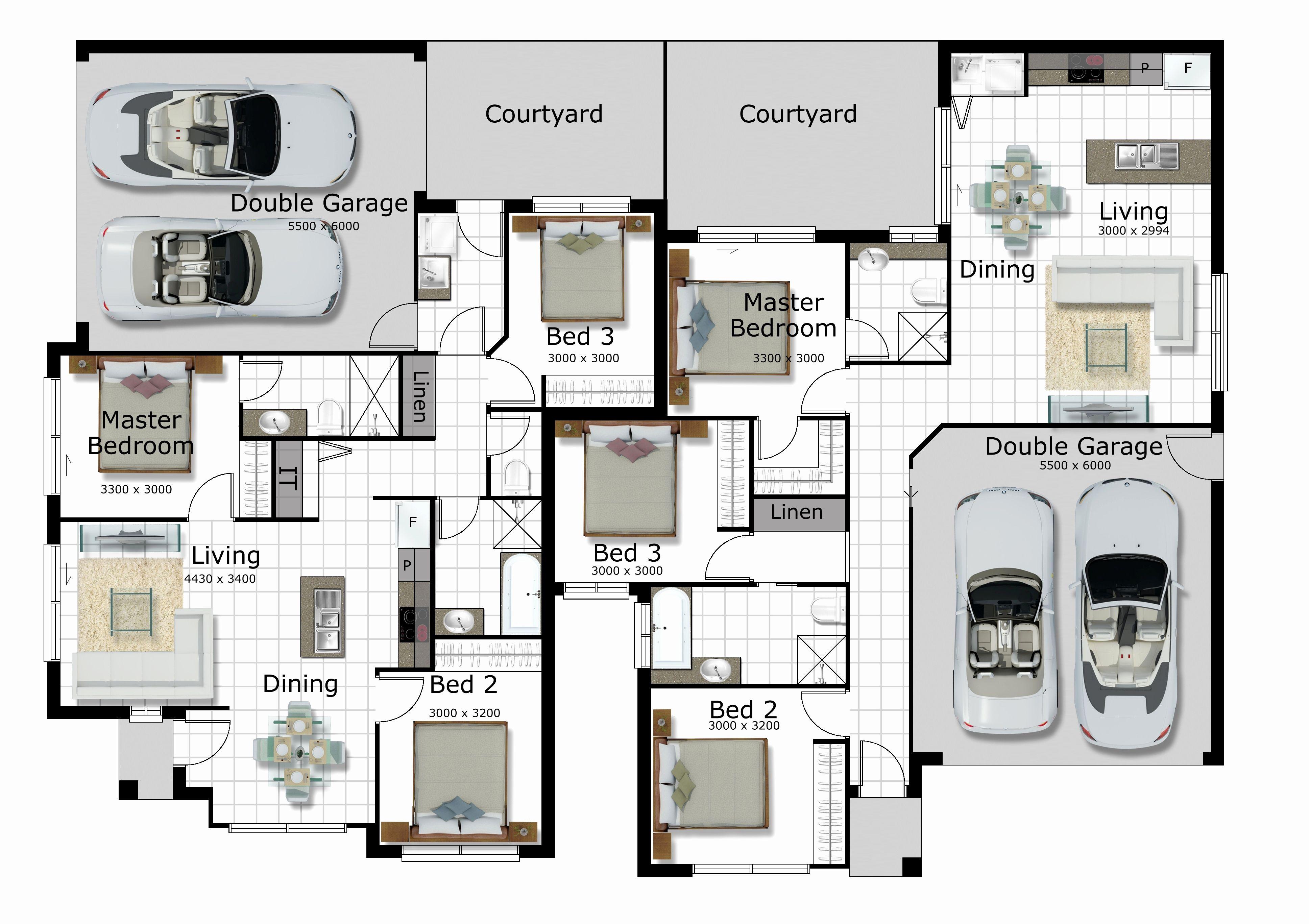 Pics 2 Story House Plans Corner Lot Floor Plans Duplex Floor Plans House Blueprints