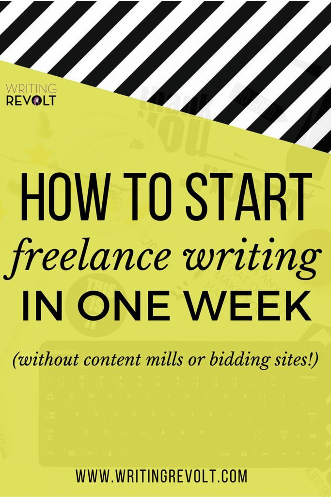 How to Start Freelance Writing in One Week (Without Content Mills - grant writing resume