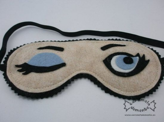 89571a405e4 This would be an easy DIY -- Felt sleep mask by caramelodemente ...
