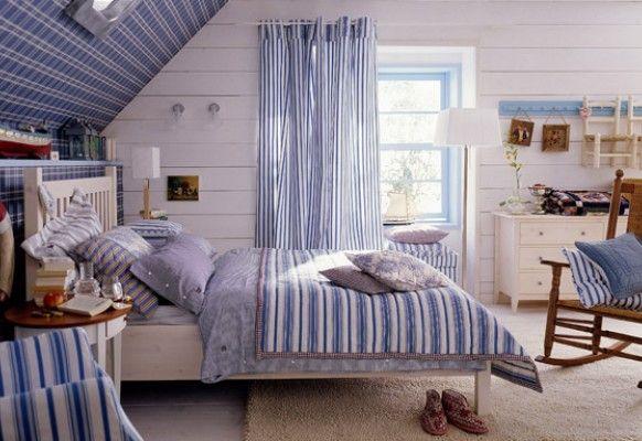wohnideen fur dachschragen gestalten – modernise, Schlafzimmer design