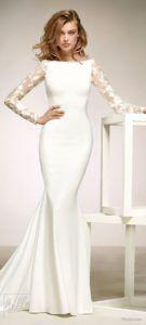 35 Langarm Brautkleider für Bräute