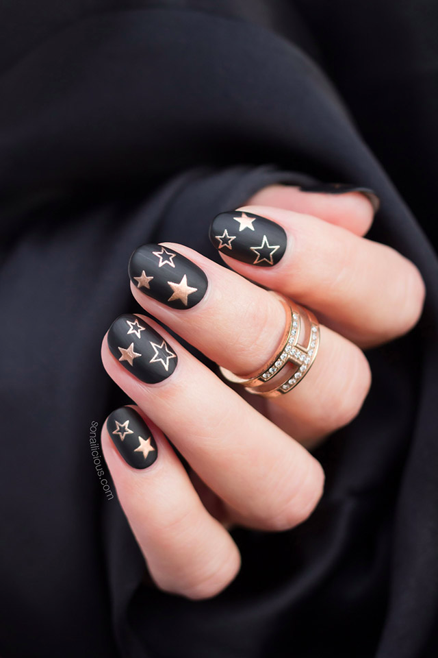 Star Nails. Plus, How-To and Exciting News! - SoNailicious