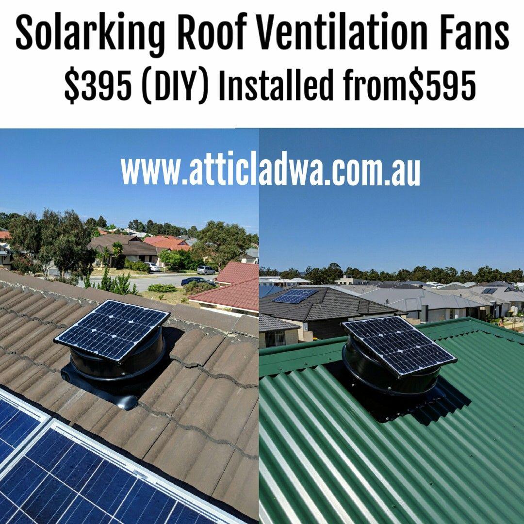Home Roof ventilation fan, Installation, Ventilation fans