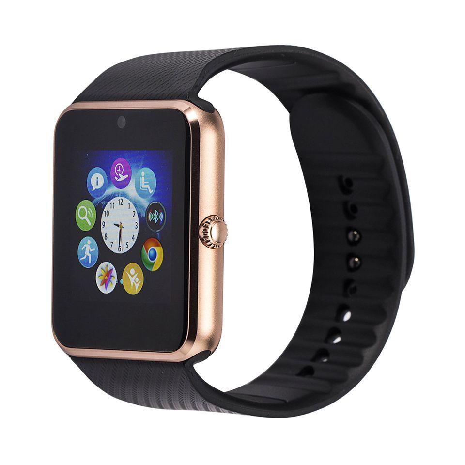 Heisser Verkauf Bluetooth Smart Gesundheit Uhr Handy Mit Sim Karte Fur Apple Samsung Smartwatch Gt08 Handgelenk Tragbare Smartwatch Smart Watch Android Smart Watch Watch For Iphone