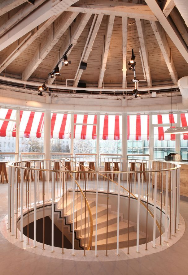 The Barn das neue Café Kranzler Restaurant berlin
