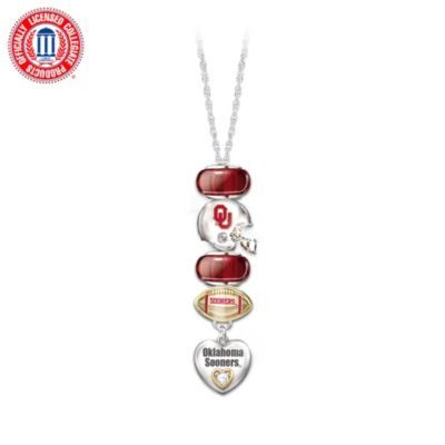 University of Oklahoma Sooners #1 Fan Charm Necklace: would make a UGA one