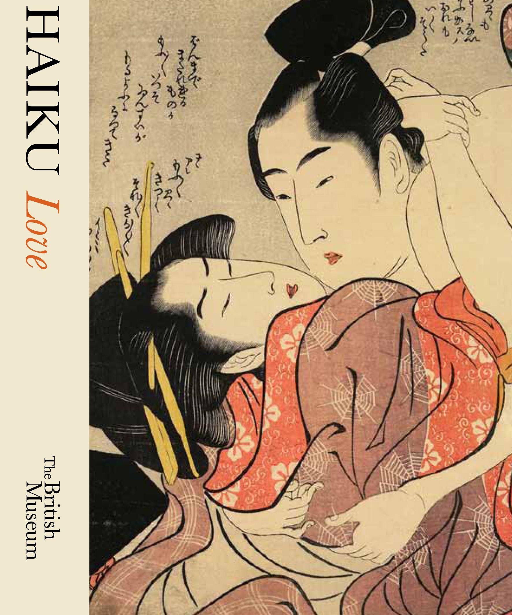 Lesbian sex haiku book
