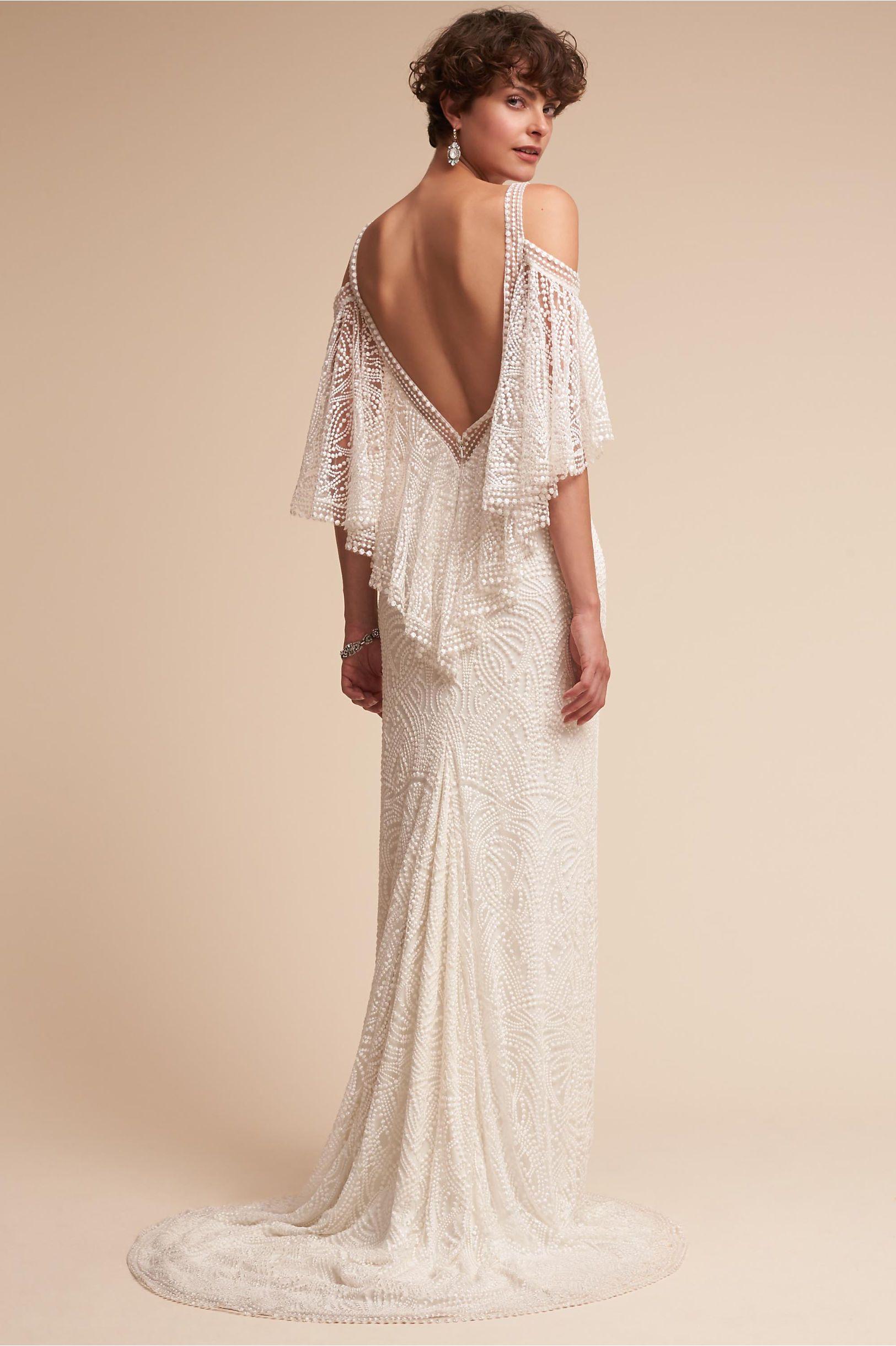 0e5cf8c5025cb BHLDN Copeland Gown Ivory in Bride
