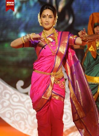 Lavani Dance Dance In 2019 Nauvari Saree Kashta Saree