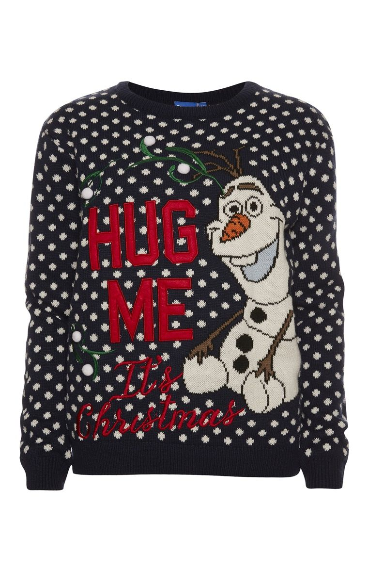 Olaf Kersttrui.Primark Frozen Olaf Jumper Leisure Time Christmas Sweaters
