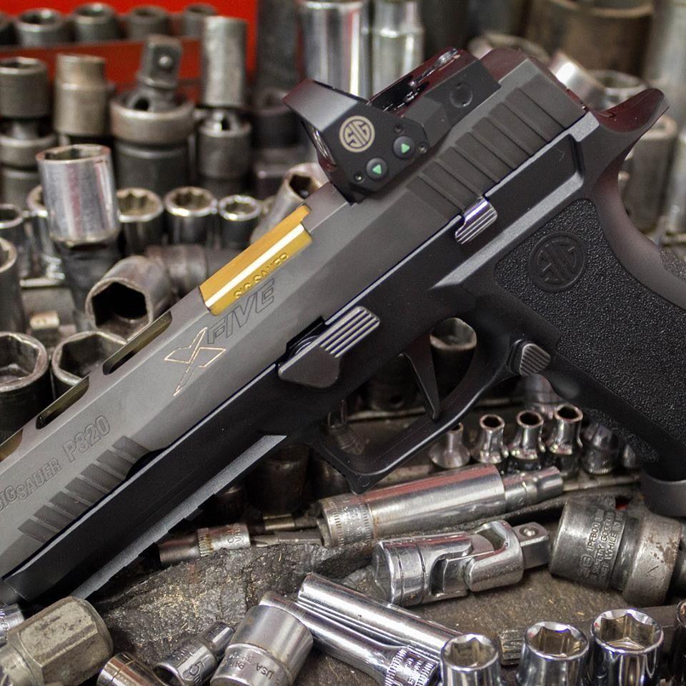Sig P320 X5   Sig P320 X5   Sig p320, Hand guns, Guns