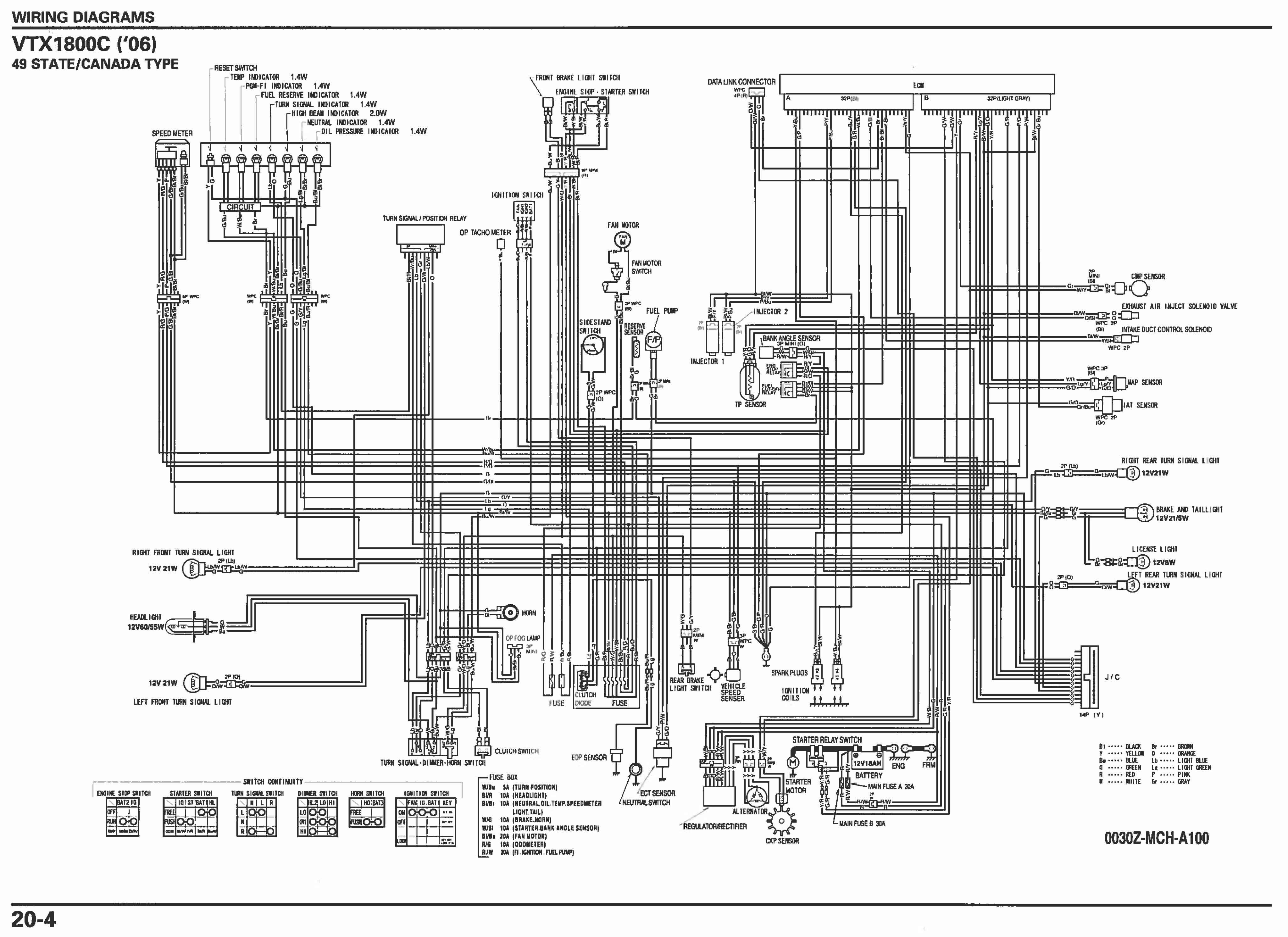 hero honda motorcycle wiring diagram