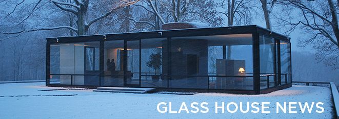 Glass house tour season extended thru december 9th holiday shopping hours