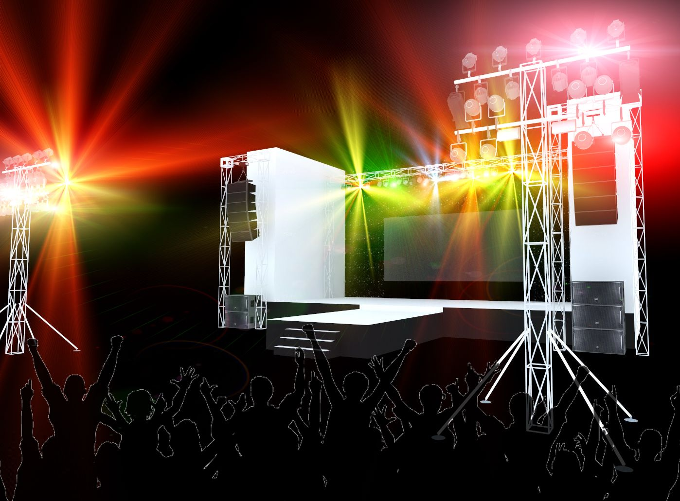 Thiết kế phối cảnh 3D sự kiện