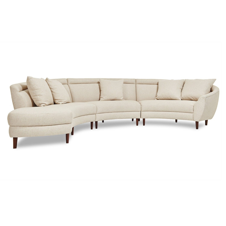 Amazing Capri Sectional Abc Carpet Home For The Home Sofa Cjindustries Chair Design For Home Cjindustriesco