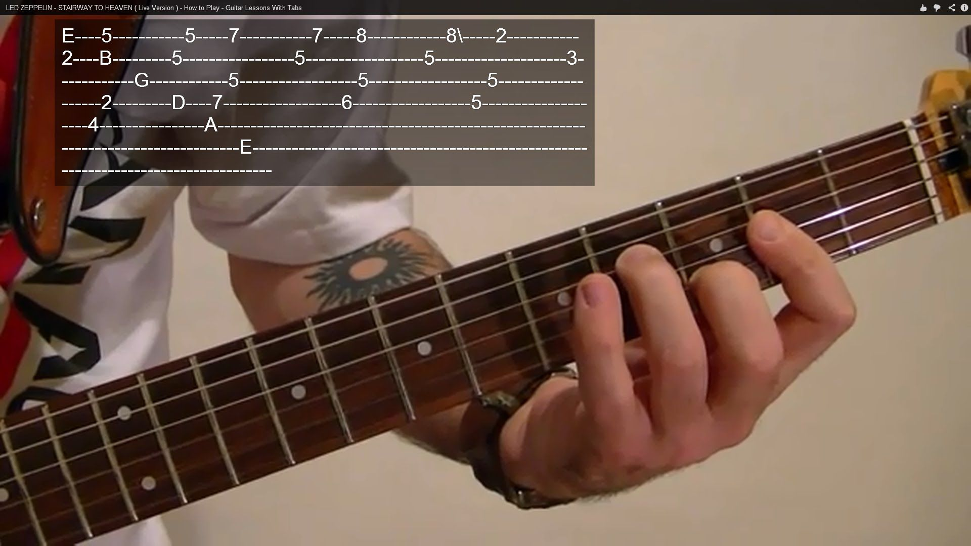 How To Play Take On Me By A Ha Guitar Lesson Guitar Lessons