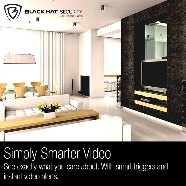 Simply Smarter Video See Exactly What You Care About With Smart Triggers And Instant Video Alerts Small Space Interior Design