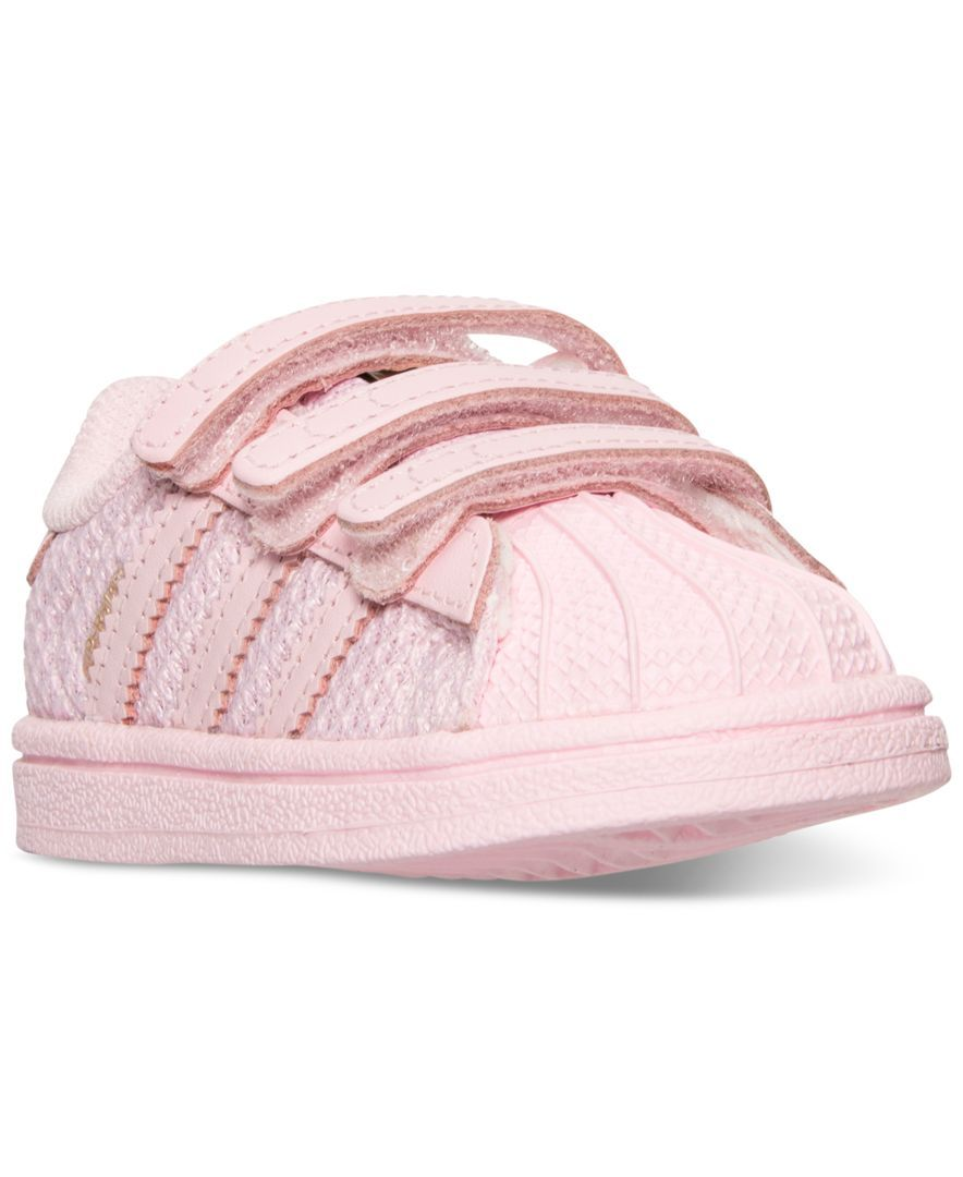 9f23639ad adidas Toddler Girls' Superstar Casual Sneakers from Finish Line ...