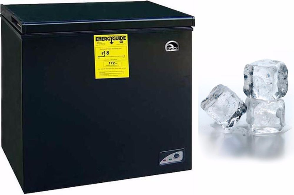 Chest Freezer 5.1 Cubic Feet Deep Cooling Freeze Apartment Size Home ...