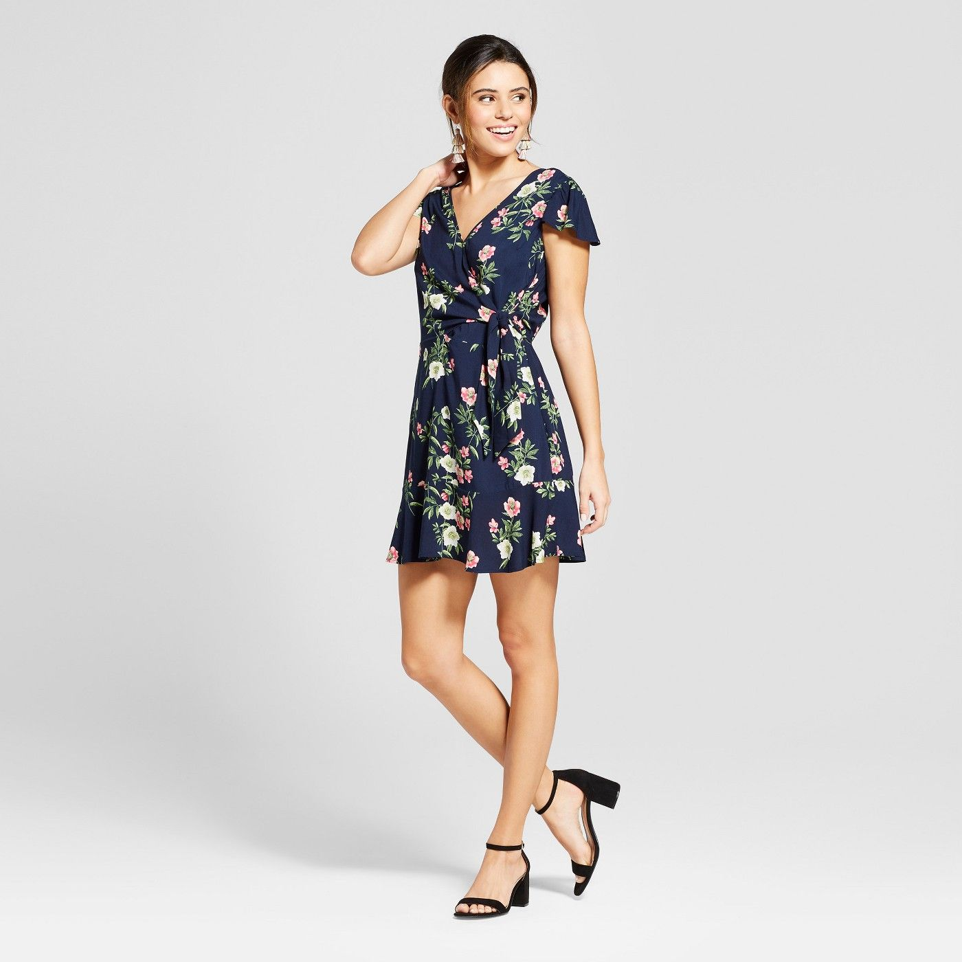 On Trend for Less Womens Floral Dress