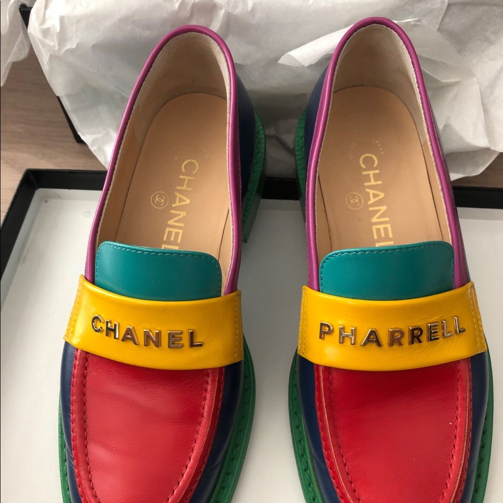 Loafers for women, Loafers, Chanel shoes