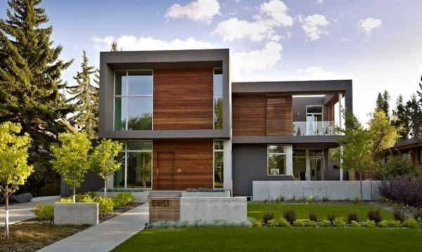 Casas modernas fachadas de casas modernas fachadas de - Casas minimalistas baratas ...