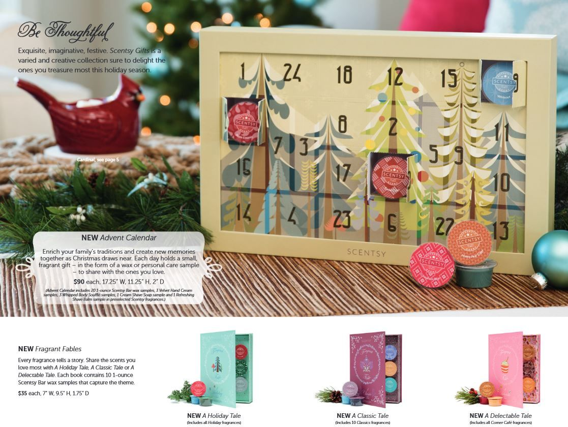 Advent Calendars Available October St WwwLynnebinikerScentsyUs