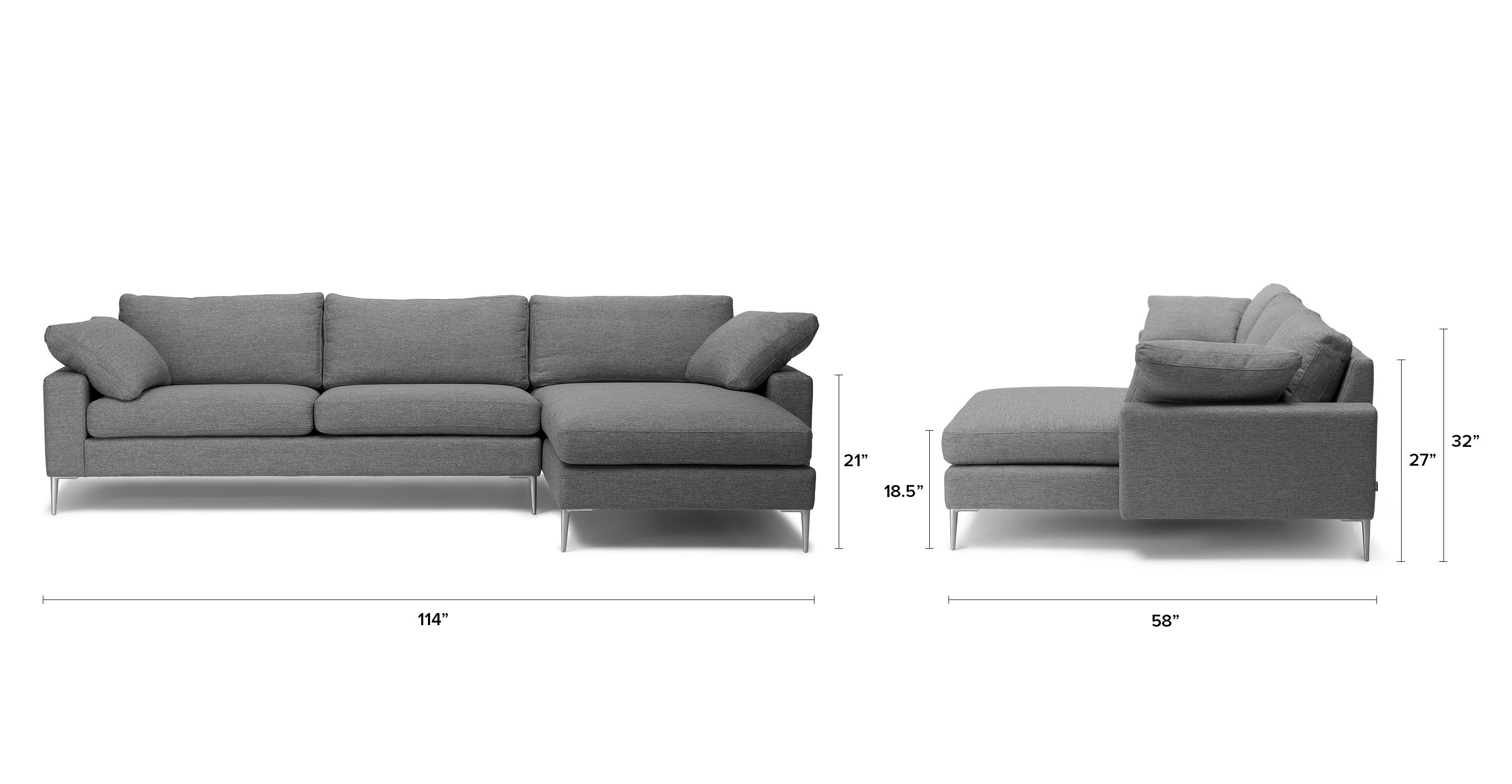 KENLEY Sectional Sofa Right