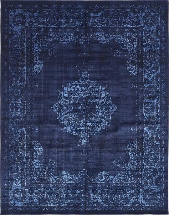 Colors Found In This Rug Include Navy Blue Black Light The Primary Color