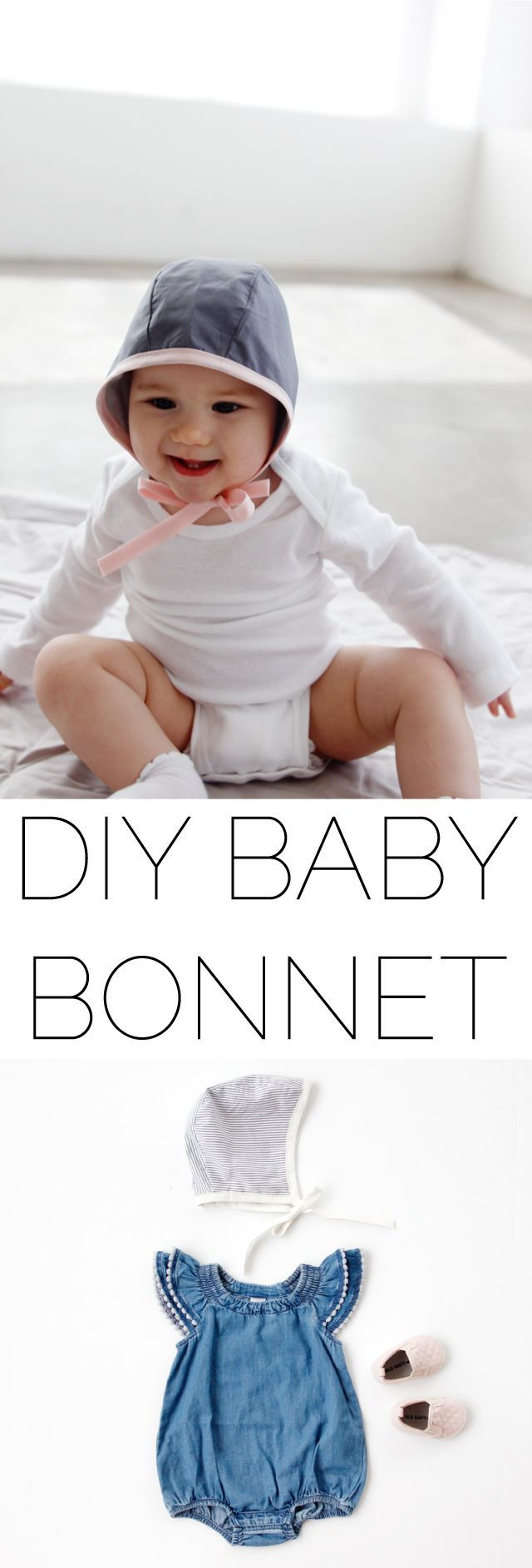 2 New Baby Bonnet Patterns | BABIES AND KIDS | Costura, Bebe y Nena